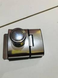 Fechadura elétrica para porta de vidro, novinha nunca usada