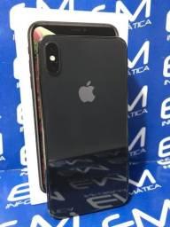 Promoção iPhone XS Max 256GB Preto - aceito seu usado como entrada -Somos Loja