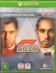Vendo fórmula 1 2019 para Xbox one