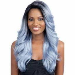 Promoção Lace Front Wig Vera (pronta Entrega Cor Platinada)