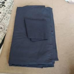 Tecido algodão 100% preto costura