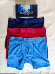 Cueca Boxer Diamantes for Men G
