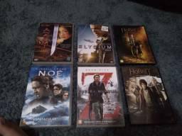 6 Filmes DVD por 10 reais