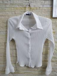 camisas brancas tamanho P
