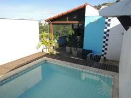 Vendo Cobertura 3 quartos em Santa Rosa com piscina -
