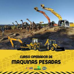 ? CURSO OPERADOR DE MÁQUINAS PESADAS