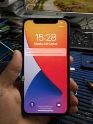 Vendo tela frontal do iPhone X funcionado!