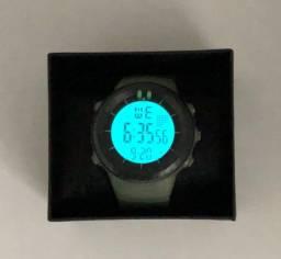 Relógio Esportivo Masculino Digital Verde Sport Watch à Prova Dágua Produto Novo