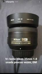 Lente 35mm 1.8 Dx nikon