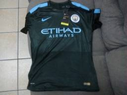 Camisa Manchester City III 2017/18 - (Nova - Pronta Entrega)
