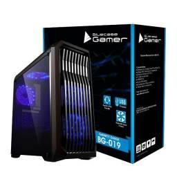 Título do anúncio: Gabinete Gamer Bluecase BG-019 Janela Lateral de Acrílico - Loja Natan Abreu