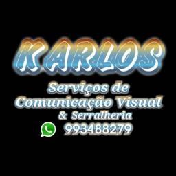 Serviços de Comunicação Visual & Serralheria