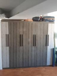 Guarda-roupa 8 portas 4 gavetas
