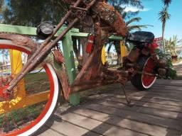 Bicicleta chopper rat look