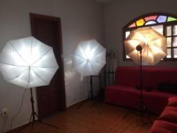 Equipamentos de iluminação e Fotografias