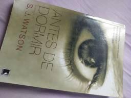 Livro Antes de Dormir- S.J. Watson