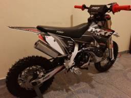 Mini moto mxf 50 ts zero!