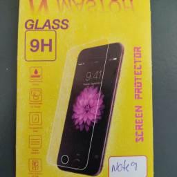 Película de vidro temperado para Xiaomi Redmi note 9.