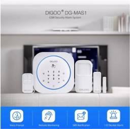 Sistema De Alarme Doméstico Sem Fio Gsm 433 Mhz Diy Dg-mas1