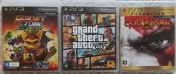 Games PS3 ORIGINAIS Mídia Física