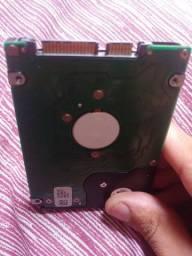Tenho HD interno 200GB notbook + memoria 1gb notbook