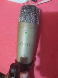Microfone C-1U Behringer USB