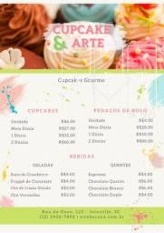 Cardápio | Tabela de preços