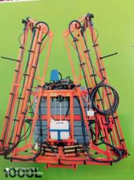 Pulverizadores e barras hidraulicas