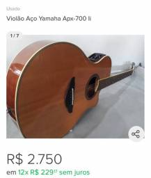 Violão APX 700 II - pechincha!!