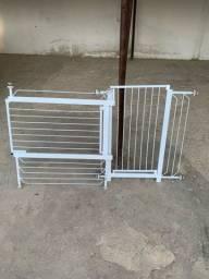 Grades para porta separar animais