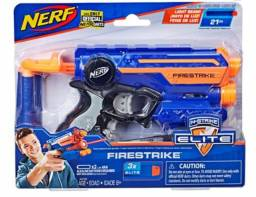 Novo Lançador Nerf Elite N-strike Ruckus Ics-8 Hasbro E3058