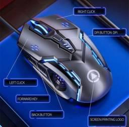 Título do anúncio: Mouse Gamer G5 Silencioso 4 Velo Luz De Fluxo - 10% OFF + Brinde em compras acima de R$150