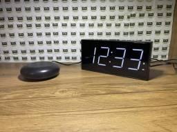 Relógio Despertador Vibratório (D120) preto (Def. Auditivo)