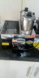 Boiler inox para café com leite.