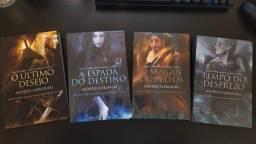 Coleção Livros The Witcher (Lacrado)