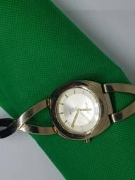 Relógio Technos Original Feminino Dourado