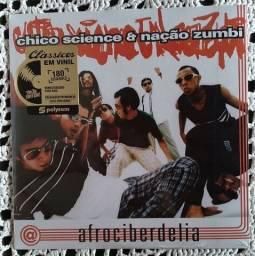 Lp novo Chico Science e Nação Zumbi Afrociberdelia disco vinil