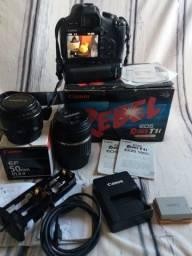 Camera Fotografica T1i Canon - melhor preço