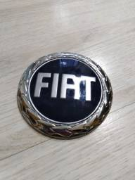 Logo Fiat Azul 7,5cm