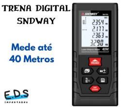 Trena Digital a Laser Sndway Mede 40 Metros