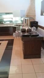 Bancada restaurante