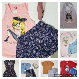 Título do anúncio: Estoque de roupa infantil