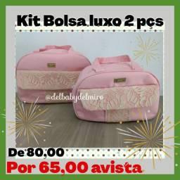 Kit Bolsa Lux 2 Peças Promoção