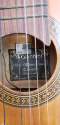 Violão Giannini elétrico acústico novíssimo