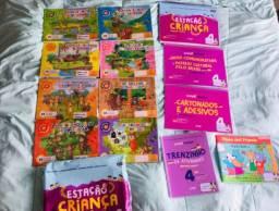 Todos os livros do Infantil V do Colégio Sagrada Família: usados em 2020.