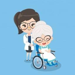 Cuidadora de idosos e babá