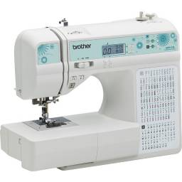 Máquina de Costura Doméstica Brother QB9110LDV 110 pontos decorativos e Letras