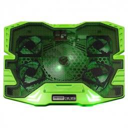 Título do anúncio: cooler gamer warrior verde com led