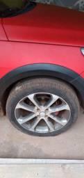 Rodas aro 17 ...225/45  zap.. *.obs: troco rodas de ferro e pneus novos..