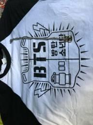 BTS- Camiseta,Colar,Gargantilha e Polaroid (Olha a descrição!!)